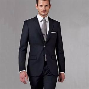 Black Business Men Suits Custom Made, Bespoke Classic ...