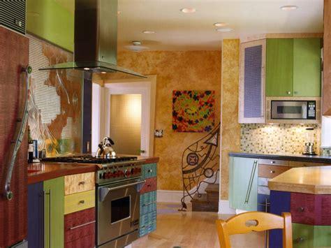 colorful kitchens hgtv
