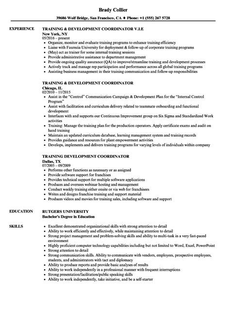 Hr Coordinator Cv by Development Coordinator Resume Bijeefopijburg Nl
