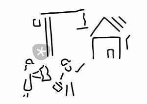 Bilder Hausbau Comic : bauherr bauingenieur hausbau grafik illustration als poster und kunstdruck von lineamentum ~ Markanthonyermac.com Haus und Dekorationen