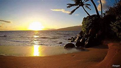 Hawaii Beaches Wild Nature Visit Places Beauty