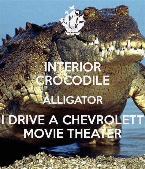 interior crocodile alligator  drive  chevrolett