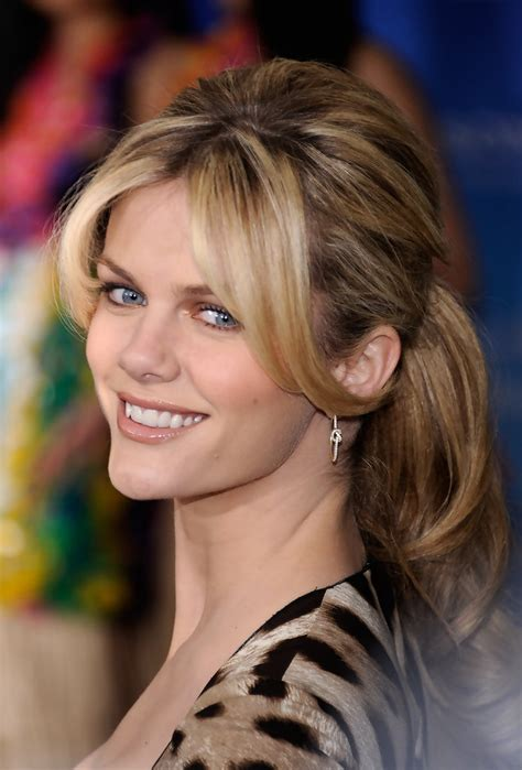 brooklyn decker ponytail brooklyn decker long hairstyles