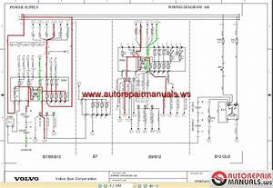 Volvo Bus B7 B9 B12 Wiring Diagram
