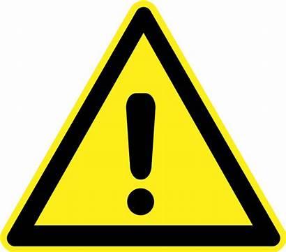 Hazard Warning Signs Generic Sign Danger Exclamation