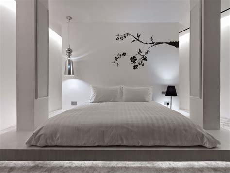 zen bedroom calm peaceful minimalist interior