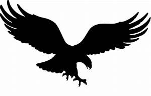 Eagle Black And White Logo