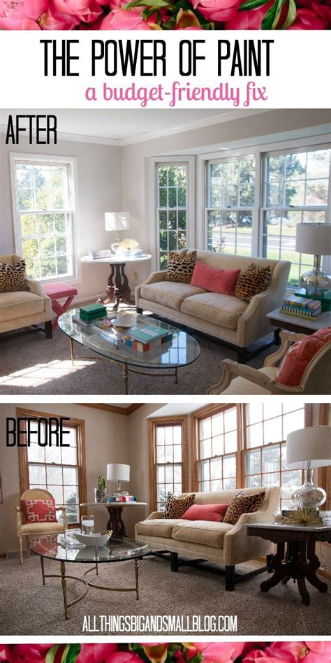 do you want to decorate your home on a budget paint is