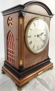 Antique, Mahogany, Bracket, Clock, Charles, Frodsham, London, Circa, 1900