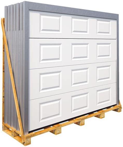 porte de garage coulissante brico depot porte de garage sectionnelle motoris 233 e en acier h 200 cm l 240 cm blanche brico d 233 p 244 t
