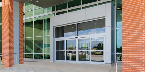 Sliding Entrance Doors by Concealed Sliding Door Systems Exterior Doors