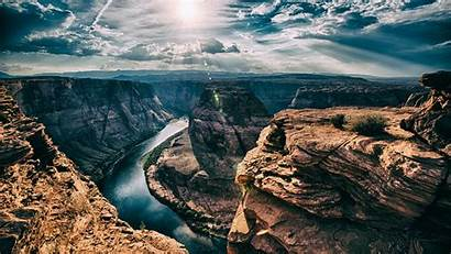 Arizona Bend 4k Horseshoe Ultra Desktop Wallpapers