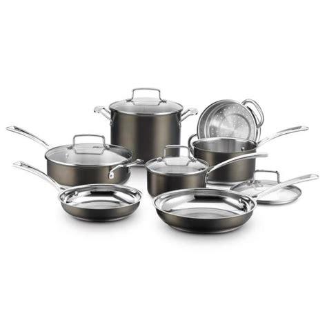 cuisinart multiclad pro  piece stainless cookware set  lids mcp   home depot