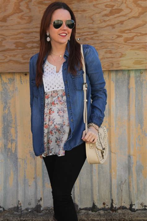 Rodeo Outfit Floral Blouses And Cowboy Boots  Lady In