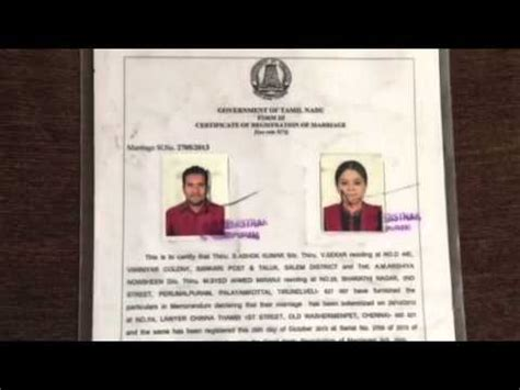 muslim marriage certificate nikahchennaiin youtube