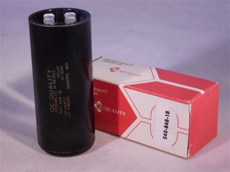 Electric Motor Capacitor by 540 648 Mfd 110 125 Vac Electric Motor Start Capacitor
