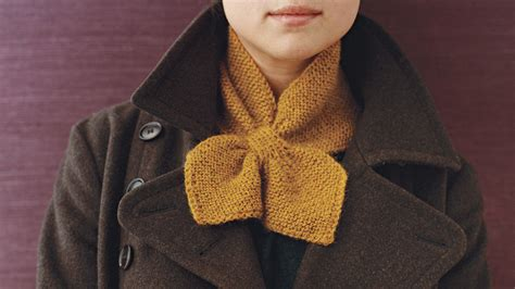 knitted neck scarf martha stewart