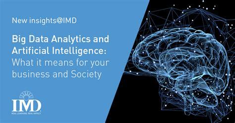 data analytics artificial intelligence