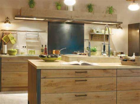 deco cuisine bois déco cuisine bois naturel