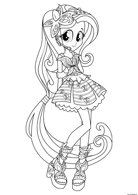 equestria girls rainbow rocks coloring pages printable