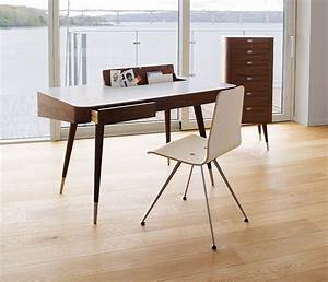 Retro desk home office furniture from wharfside for Retro office desk