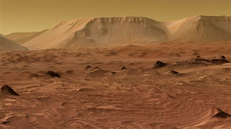 Mars Mountains