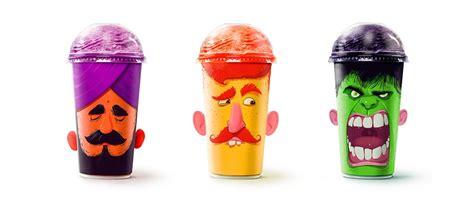 Great Milkshake Packaging Concept
