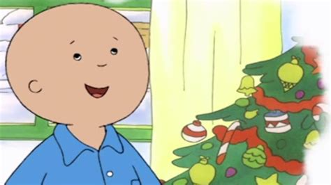 Caillou Gets Ready For Christmas