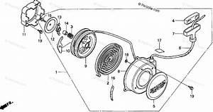 Honda Atv 2000 Oem Parts Diagram For Recoil Starter