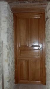 Porte Interieur En Bois : porte interieur bois massif id es de ~ Dailycaller-alerts.com Idées de Décoration
