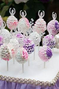 Ballerina Cake Pops! All Sparkled Up