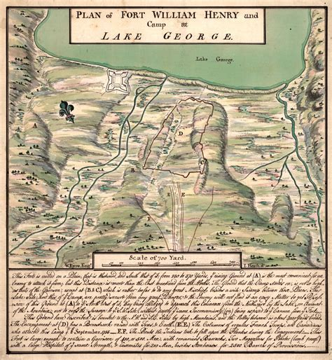 siege of siege of fort william henry