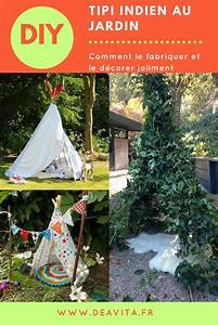 Comment Faire Un Tipi : 25 best ideas about tipi indien on pinterest tente ~ Dallasstarsshop.com Idées de Décoration