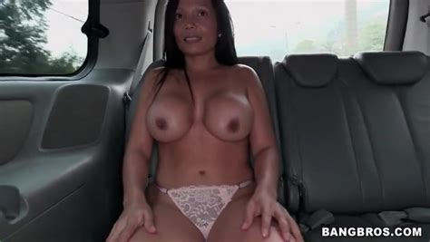 Latina Milf Amateur Strips Naked In The Car Milf Porn