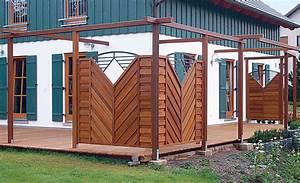 Sichtschutz Balkon Holz : sichtschutz terrasse sichtschutz ~ Frokenaadalensverden.com Haus und Dekorationen