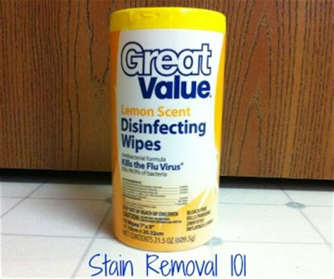 Walmart Great Value Disinfecting Wipes Review: Lemon Scent