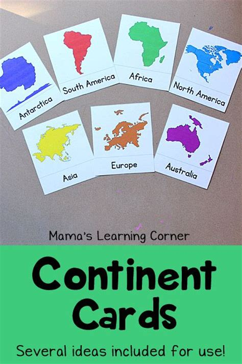 learn the continents free printable preschool 548 | eef98011ad79dc1a663fe9349d554bc2