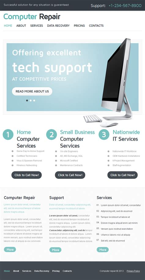 computer repair technician resume now login to