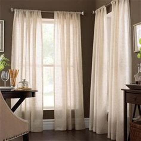 searsca sheer curtains curtains for home on wood blinds curtain rods