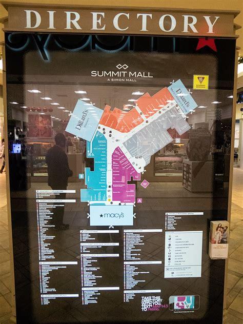 summit mall directory summit mall opened october