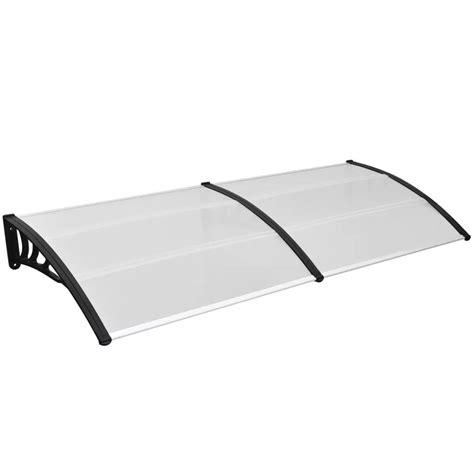 tettoia in policarbonato trasparente vidaxl tettoia esterno policarbonato trasparente 300x100cm