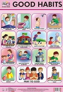 Child Personal Hygiene Chart Good Habits Chart Manners For Kids Manners Chart