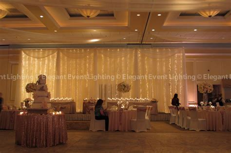 fairy light backdrop venutis