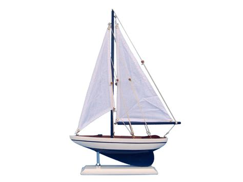 Buy Wooden Blue Pacific Sailer Model Sailboat Decoration Corner Dining Room Hutch Ashley Furniture Set How To Design The Living Pics Of Designs Little Expanding Round Table Handmade
