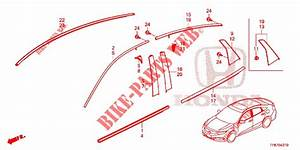 Front Grille  Molding For Honda Cars Civic Diesel 1 6 Top 4