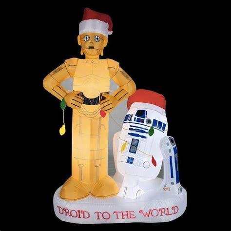 airblown inflatable   santa hat star wars