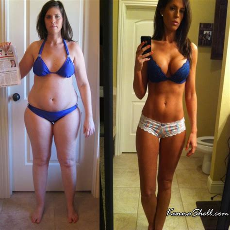 Kenna Shell The Best Gallery Of This Weight Loss Transformation Inspiration Pics