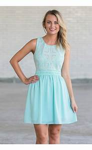 Sky Blue Embellished Dress, Light Blue Party Dress, Pale ...