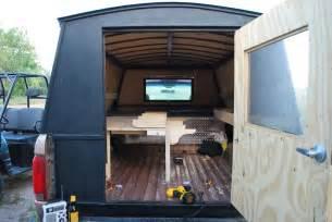 Homemade Truck Camper Plans