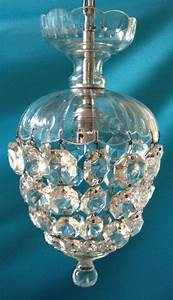 Small Victorian Bag Chandelier